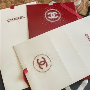 CHANEL GIFT BAGS